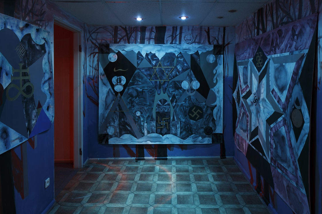 Anežka Hošková: Analog Witch I, Analog Witch II, Lucifer ́s The Light Of The World, 2014, 2015