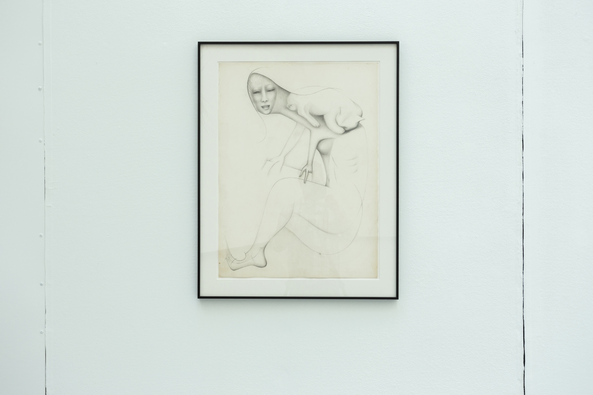 E'WAO KAGOSHIMA Untitled, 1978 Graphite and ink on paper 76.2 x 55.9 cm Courtesy Galerie Gregor Staiger, Zürich and Greenspon Gallery, New York