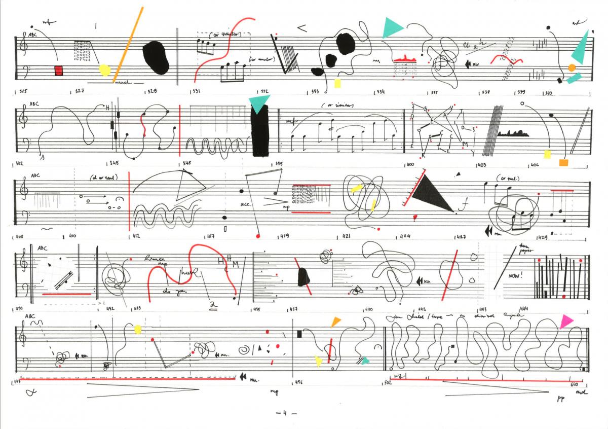 Sandra Kazlauskaitė, Visual scores