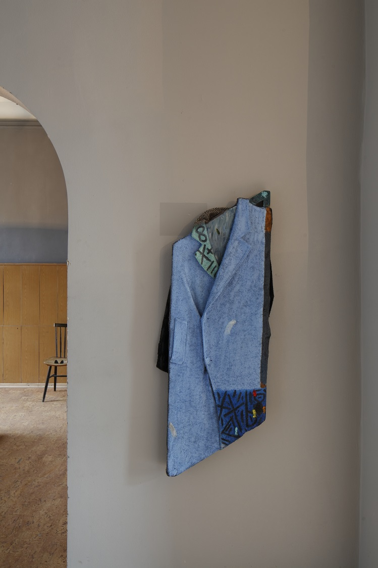 Julius Reichel: Blue Coat, 2014