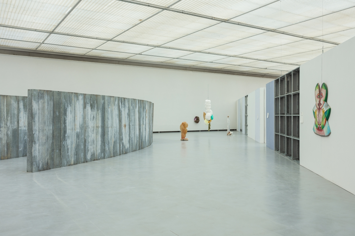 Architecture by DIOGO PASSARINHO, works by DAIGA GRANTINA, E'WAO KAGOSHIMA