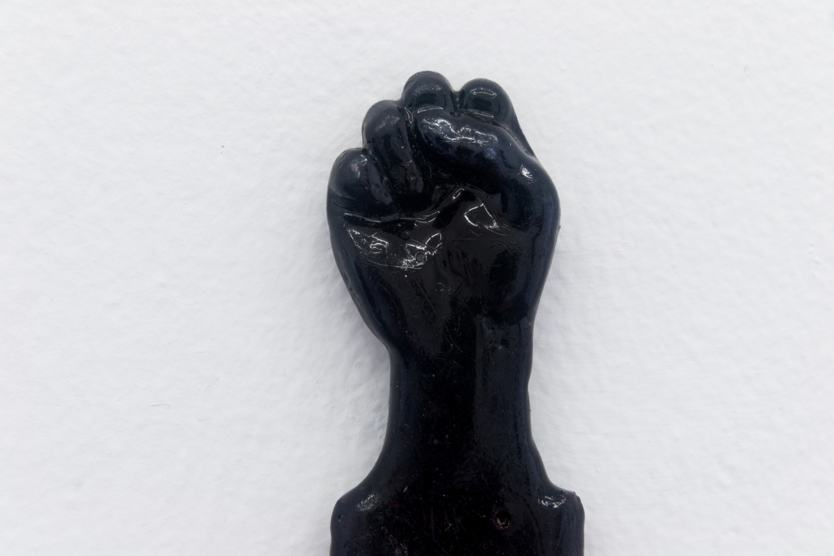 Perrin Turner, Model 1, 2018 Handle, resin and blade 6 x 1 x 1/4 inches