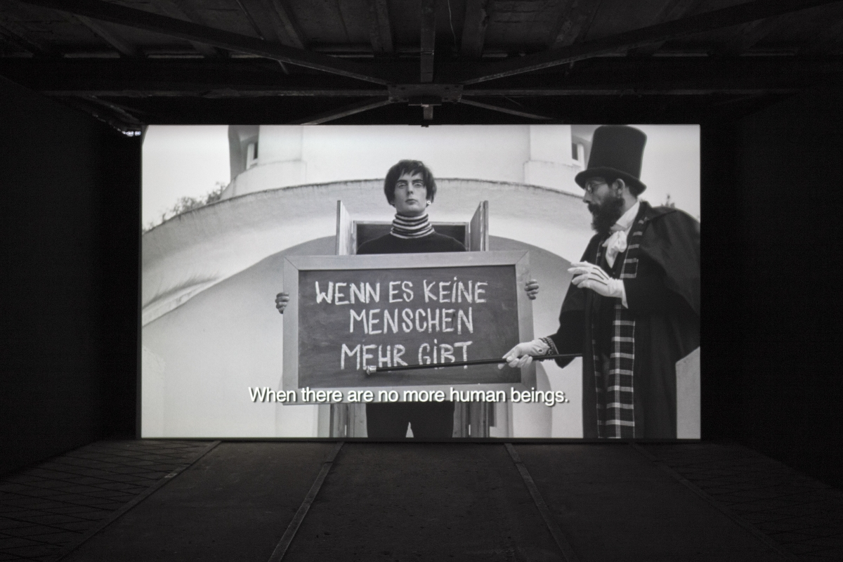 Javier Téllez. Caligari and the Sleepwalker. 2008. Super 16mm film transferred to HD video. 27' 07''. Courtesy of the artist and Philipp von Rosen Galerie, Cologne. Photo: Anu Vahtra