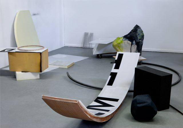 Two Bowlines(under a strain), sculptural installation, RijksakademieOPEN 2015
