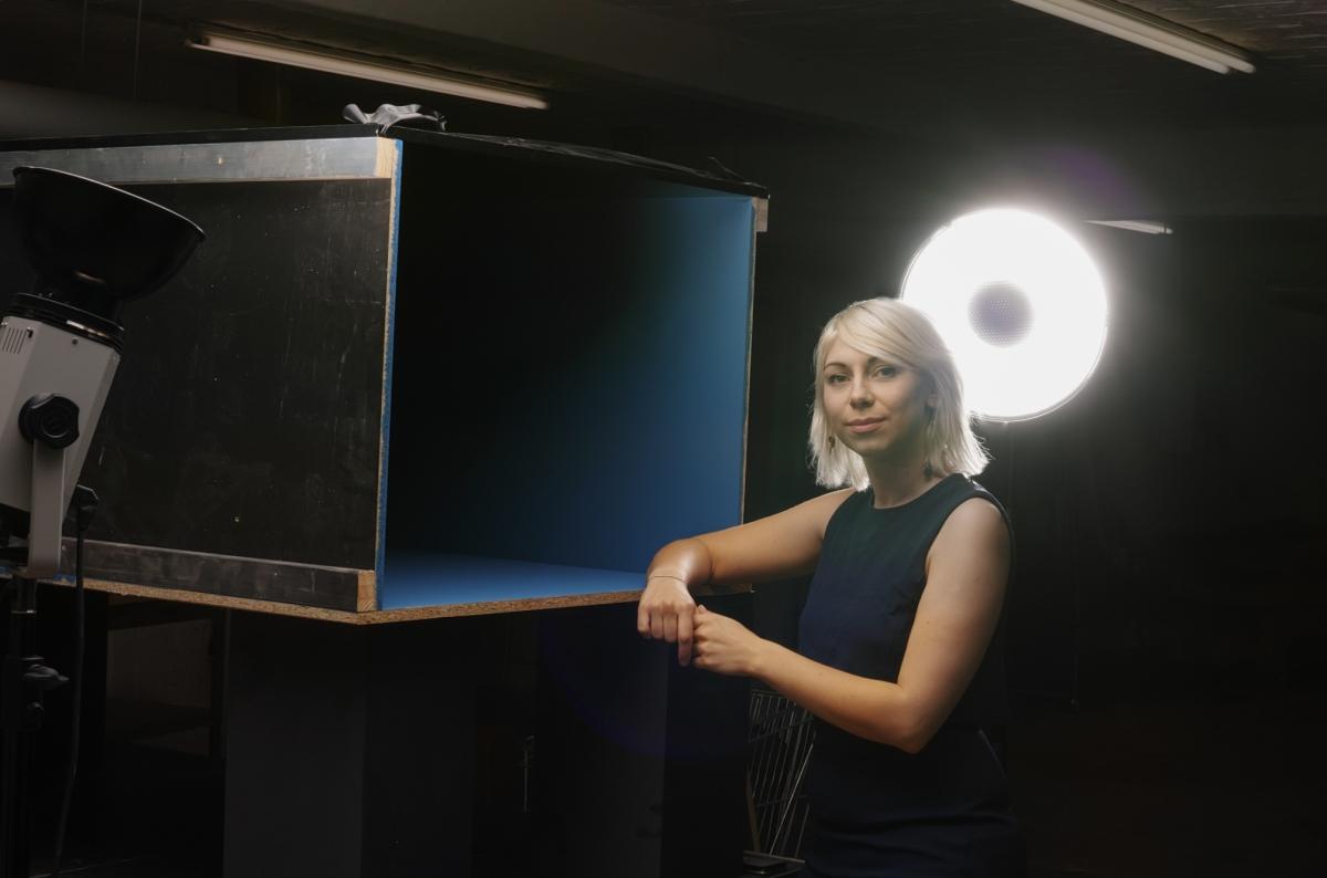Emilija Škarnulytė. Photography: Peter Rosemann