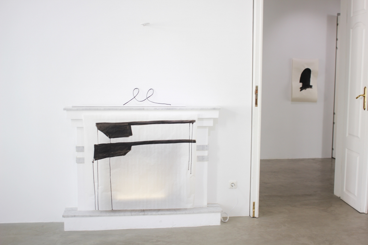 Retreat. Marija Šnipaitė, exhibition view, (AV17) gallery 2018