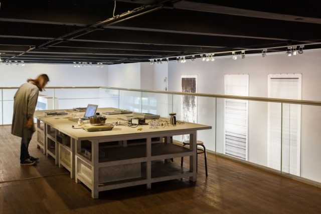 'Introduction to Posthuman Aesthetics' installation, NKNU Art Centre, Kaohsiung, Taiwan, 2017. Photo: Christian Döller