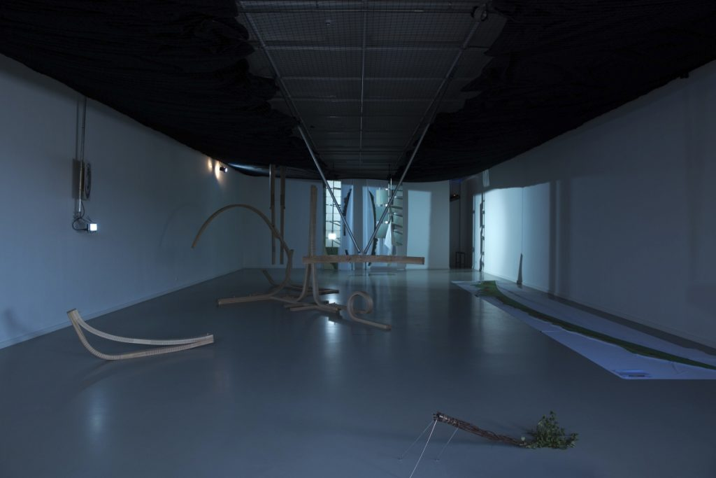 (Per)forming Scapes, 2018, exhibition view, Nida Art Colony, Nida, Lithuania