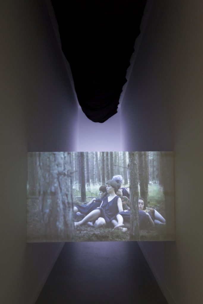 Lina Lapelytė, Play for the Parallels, 2018.  Video with sound 11:07'. Loop