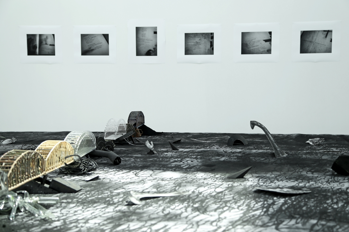 Artūrs Virtmanis, On the Bridges of No Return, 2018. Photo: Margarita Ogoļceva, 2018, Latvian Centre for Contemporary Art