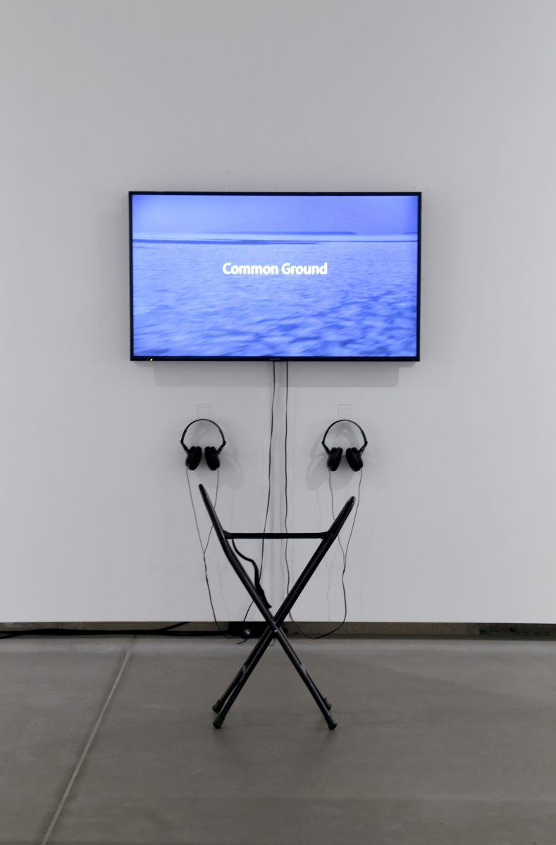 Kristina Norman, Common ground, 2013. Photo: Margarita Ogoļceva, 2018, Latvian Centre for Contemporary Art