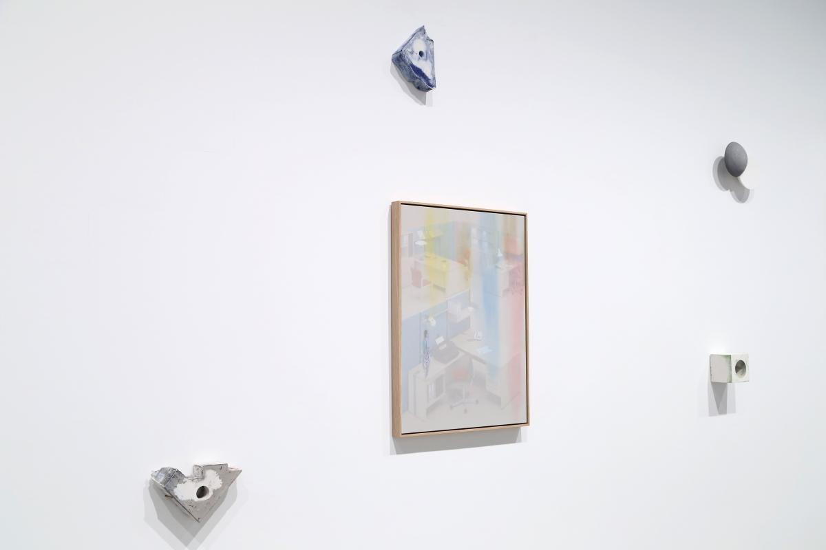 Inga Meldere & Mikko Hintz, Recollection, 2018; Collation, 2018; Correlation, 2018; Props, 2018
