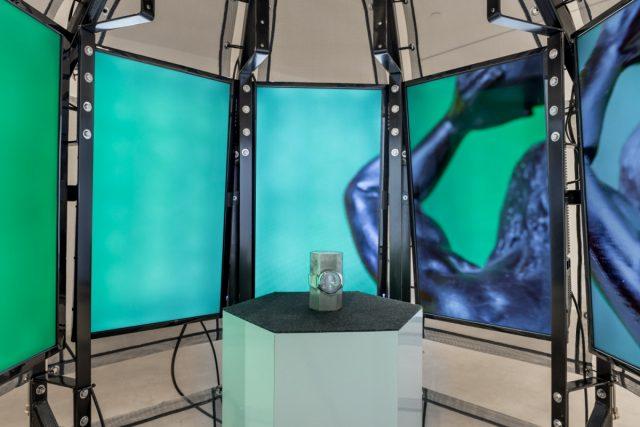 Felix Kalmenson, Atlas, 2017 Video installation Dimensions variable Courtesy of the artist