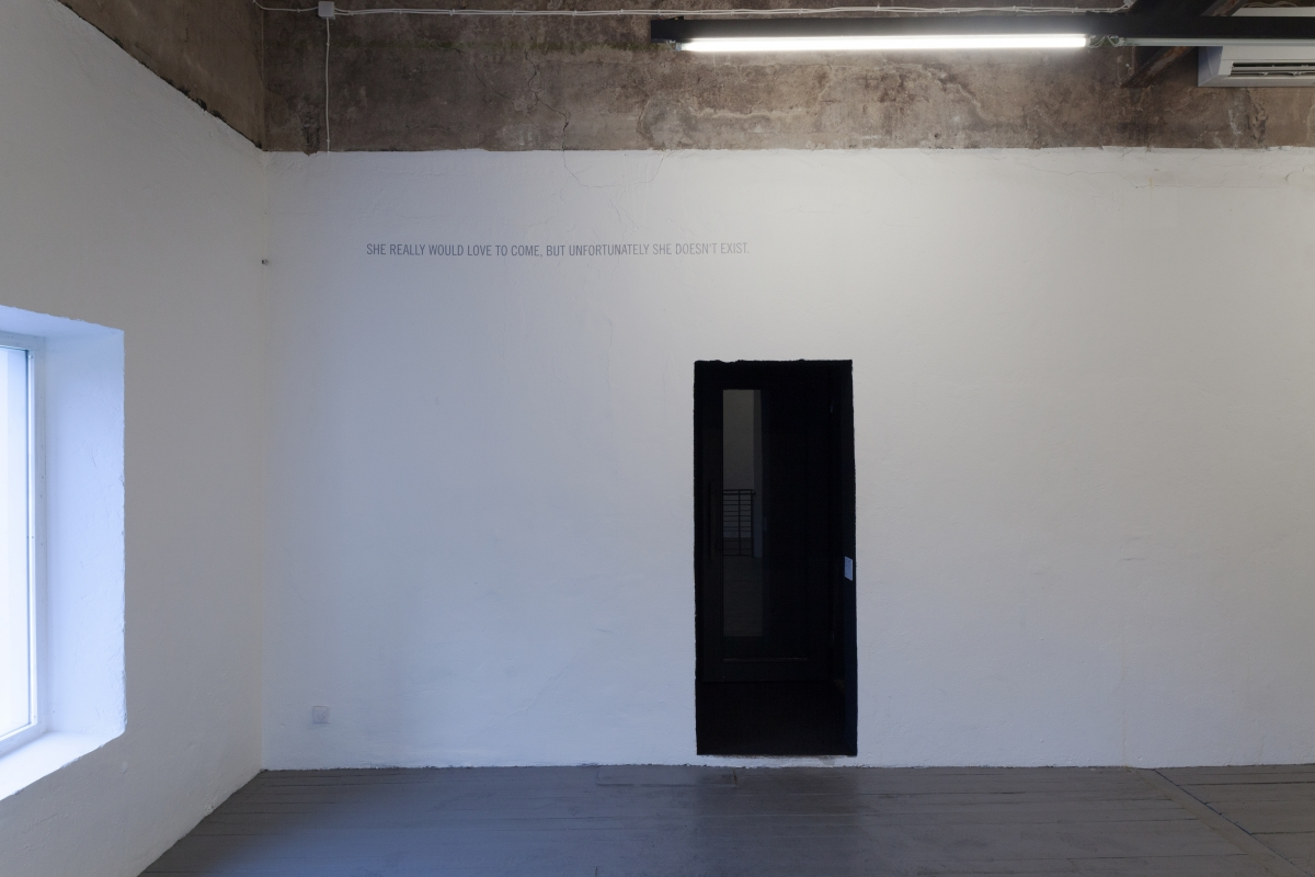 "Dora Way. ""1 iJ"" at EKKM, curated by Ekaterina Shcherbakova. Exhibition view. Photo: Paul Kuimet."
