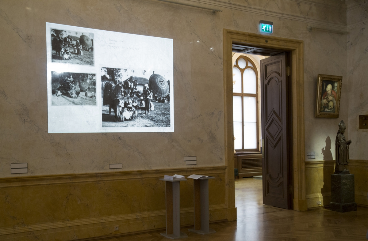 Claire Holt, Slide show, photographs, 1930s-1950s. Photo: Margarita Ogoļceva, Latvian Centre for Contemporary Art, 2018