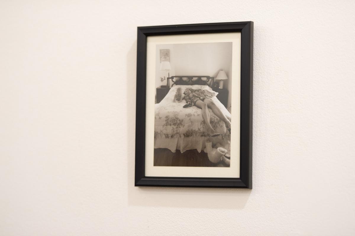 Monika Furmana. Variation After Cindy Sherman Untitled Film Still #14. 2016, photography, framed, 15x10