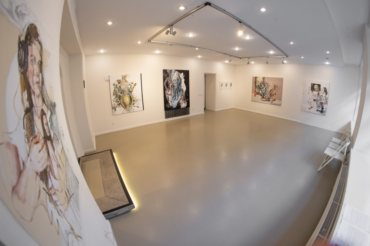 Monika Furmana, exhibition view