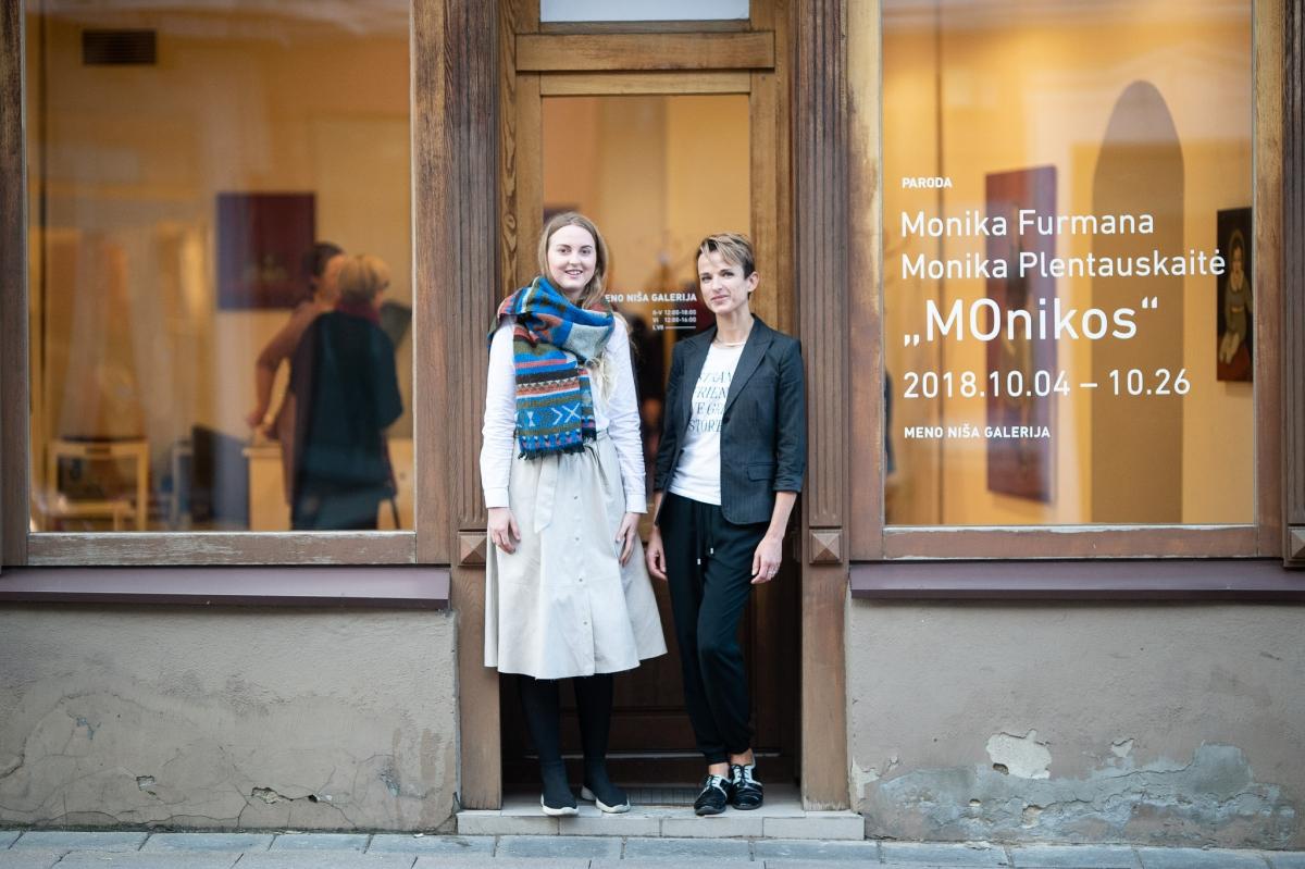 Monika Plentauskaite and Monika Furmana