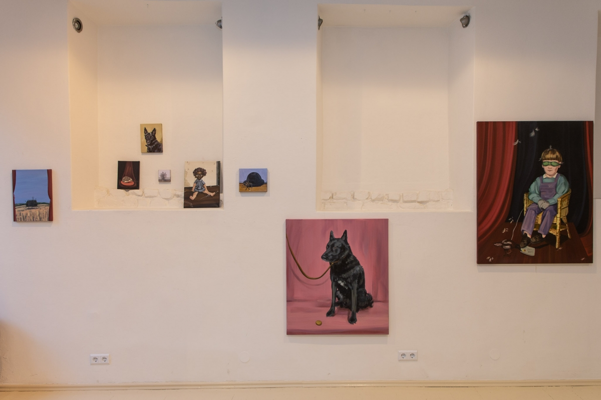 Monika Plentauskaite, exhibition view