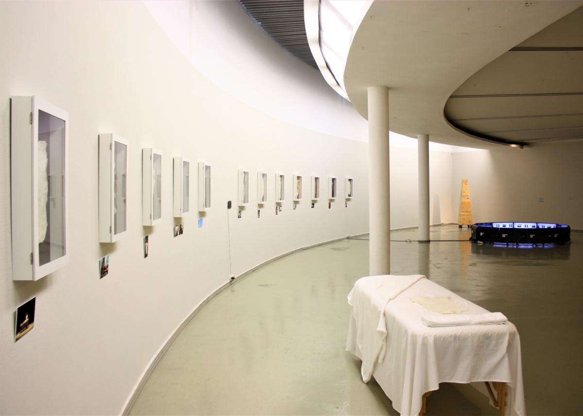 """Kaunas in art. So close, so far"" exposition view M. Žilinskas art gallery."