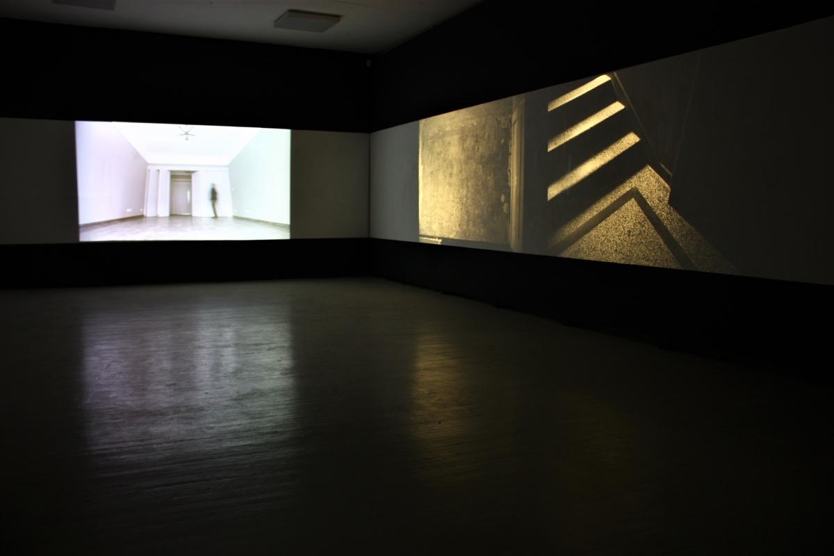 """Neringa Naujokaitė (LT / DE) """"Art Deco"""" exposition view, gallery """"Meno parkas""""."""