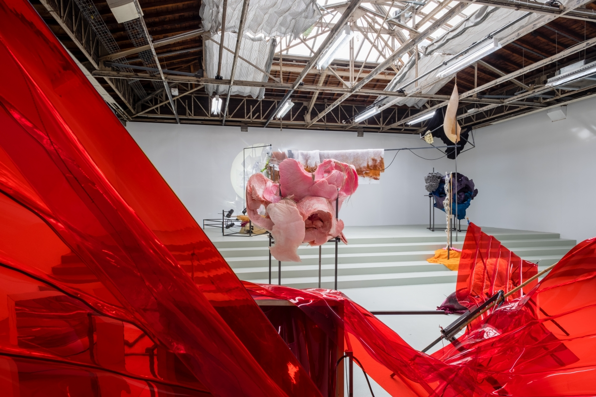 Daiga Grantiņa, exhibition Toll at Palais de Tokyo, 2018. Photo: Toan Vu Huu