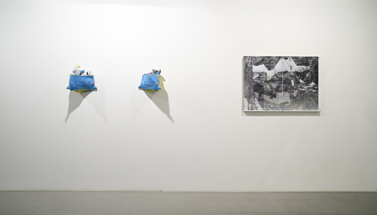 08 Oleg Frolov & Tobias Kaspar _Epicentre_ exhibition view, 2018, Photo S.Stepaško