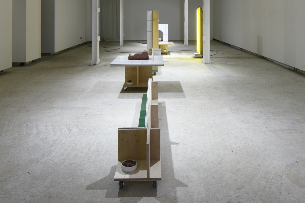When You Read This, Nothing Special Will Have Happened. Exhibition view. 2018