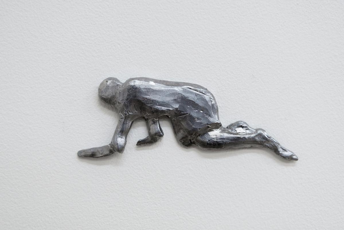 Crawlers, Aluminum, 2018