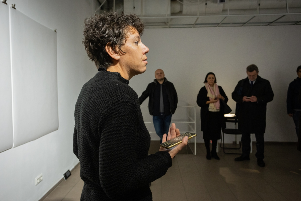 'The Science of a Good Lie, Amira Hanafi, Sodų 4, Vilnius. Photo: Andrej Vasilenko