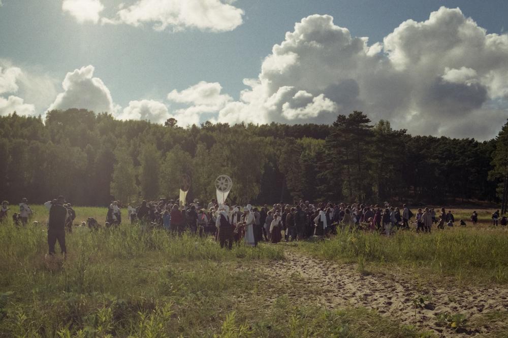 Midsummer festival ritual in local Nida community. Photo: Andrej Vasilenko