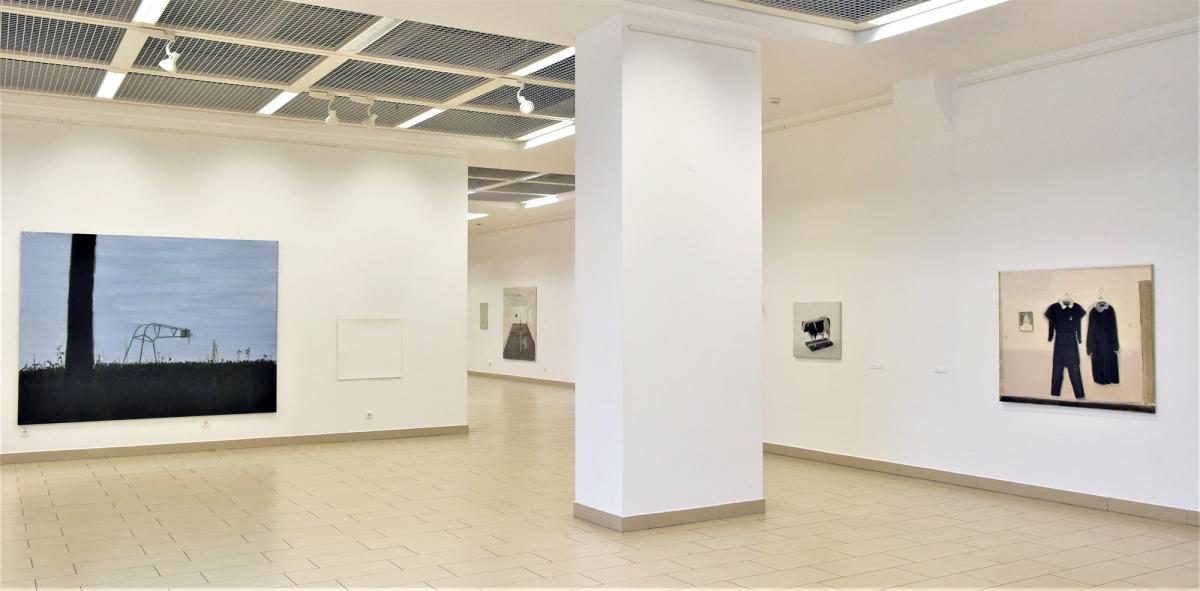 Eglė Ulčickaitė's exhibition 'Paralelinė kartoteka' (A Parallel Card Catalogue), at Titanic, the VAA exhibition hall, 2018