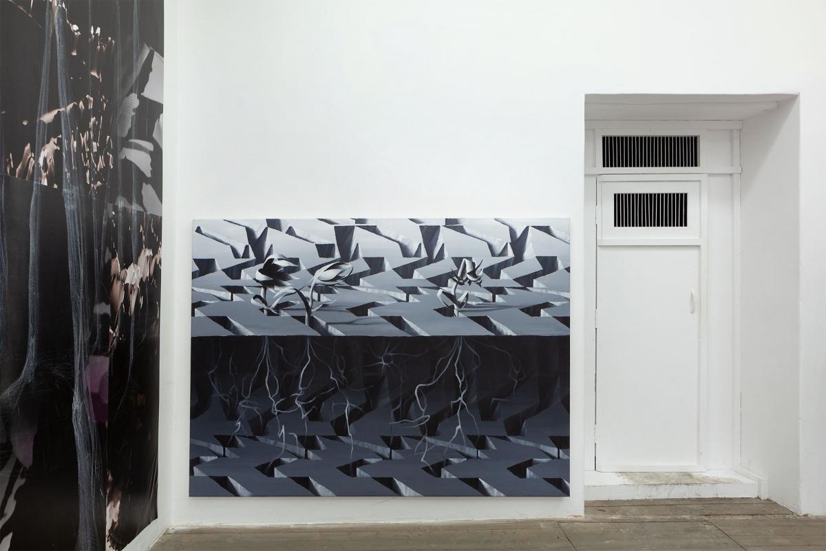 Viktor Timofeev, 'Three Aminals', acrylic on canvas