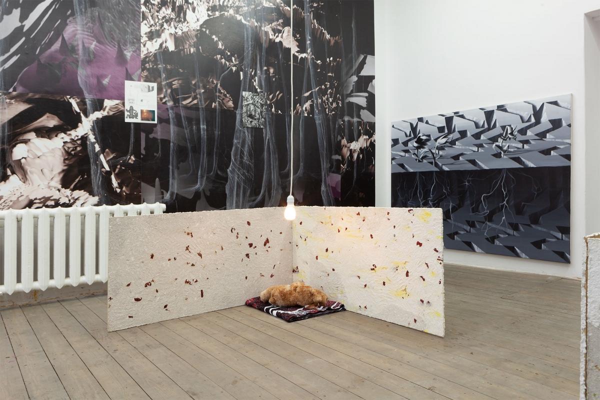 Aminals, Alexander Iezzi and Viktor Timofeev, exhibition view, 427 Gallery, Riga