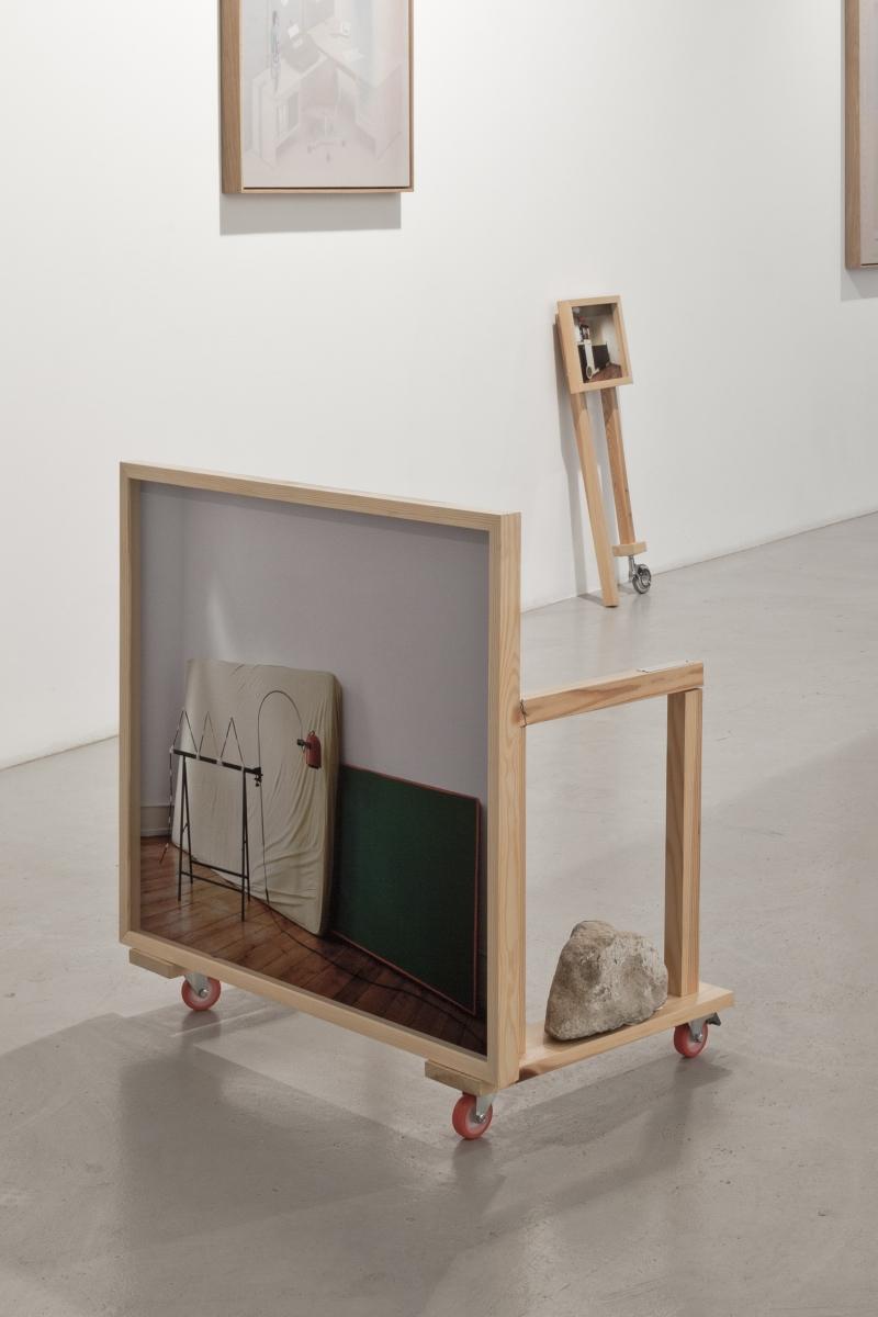 Post Winter Mixtape, installation view, Temnikova and Kasela Gallery, 2019. Photo: Anu Vahtra