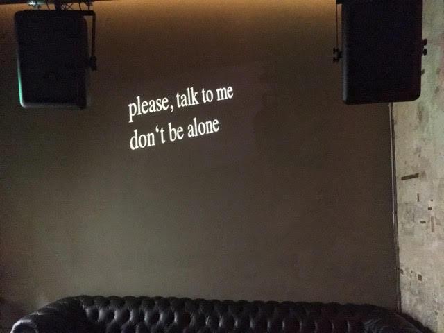 'never be the same' performance night, Anita Berber, Berlin, 2016
