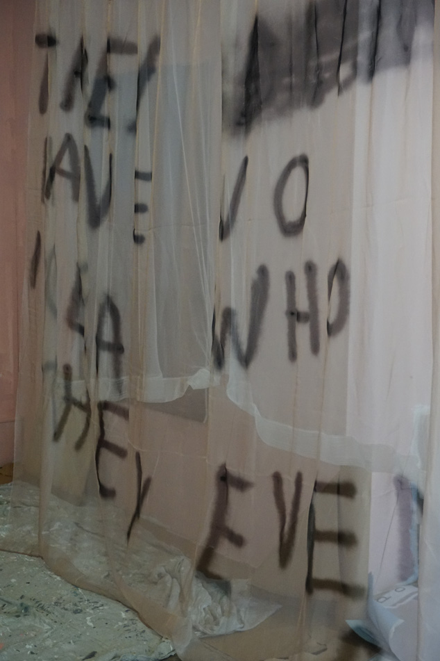 10.03. work / installation in progress: 'They have no idea who they even are'