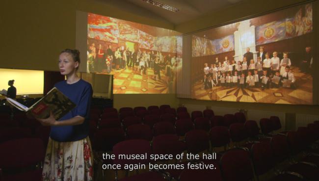 Kristina Norman 'Festive Spaces', 2016, video still. Courtesy of the artist