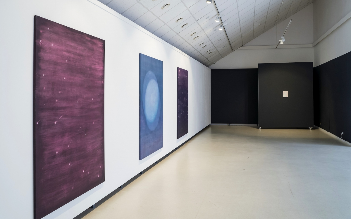 'Memory colour' exhibition view, KCCC Exhibition Hall, Klaipėda, 2019
