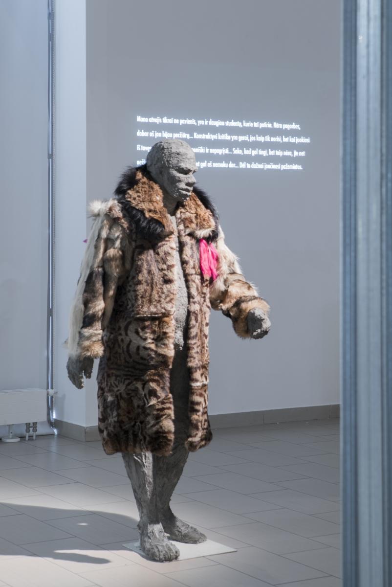 Liucija Kvašytė, Neanderthal Is a New Fashion, 2019