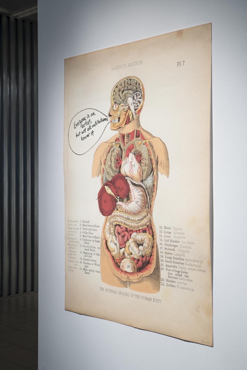 Laima Kreivytė, Anatomy of an Institution, 2019