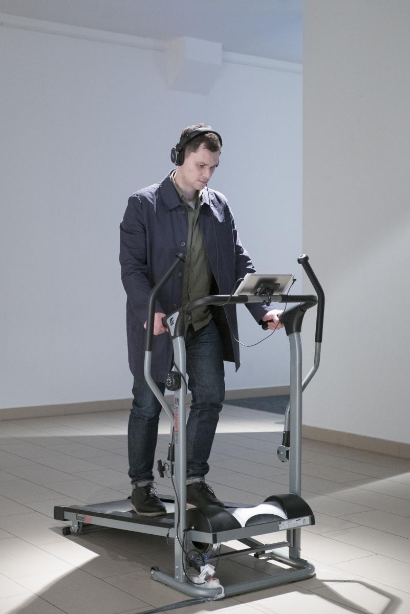 Vitalij Červiakov, Walking Is Still Honest, 2018–2019