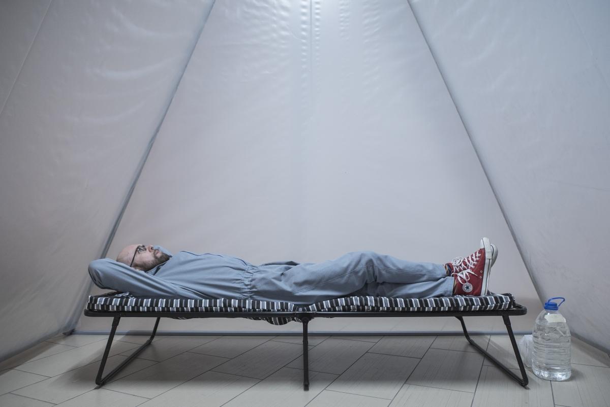 Saulius Leonavičius, A Hunger Strike, an Example. A 10-day hunger strike in memoriam Petras Cidzikas, 2019