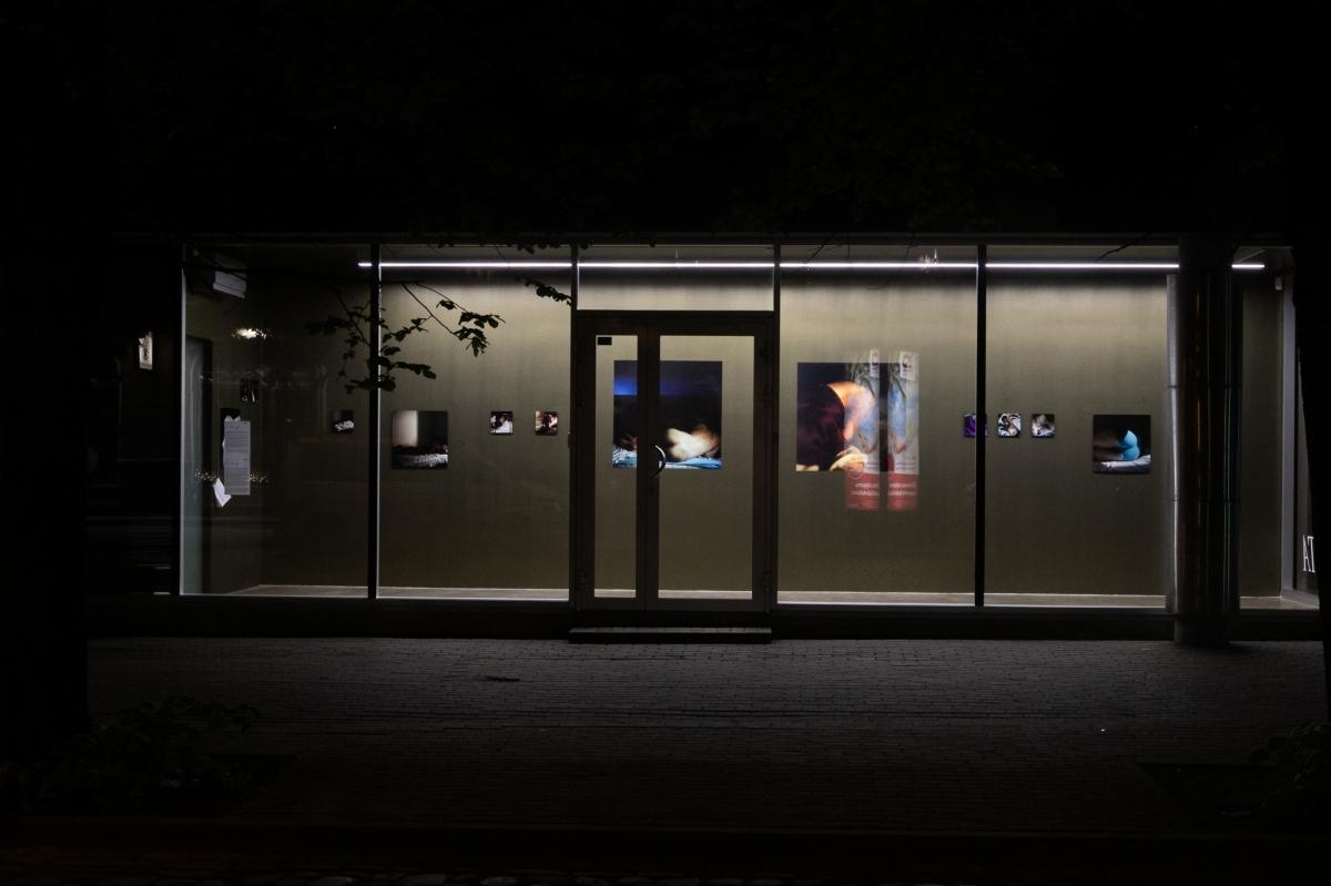 'P', solo exhibition by Vika Eksta. Gallery Alma, 2019.