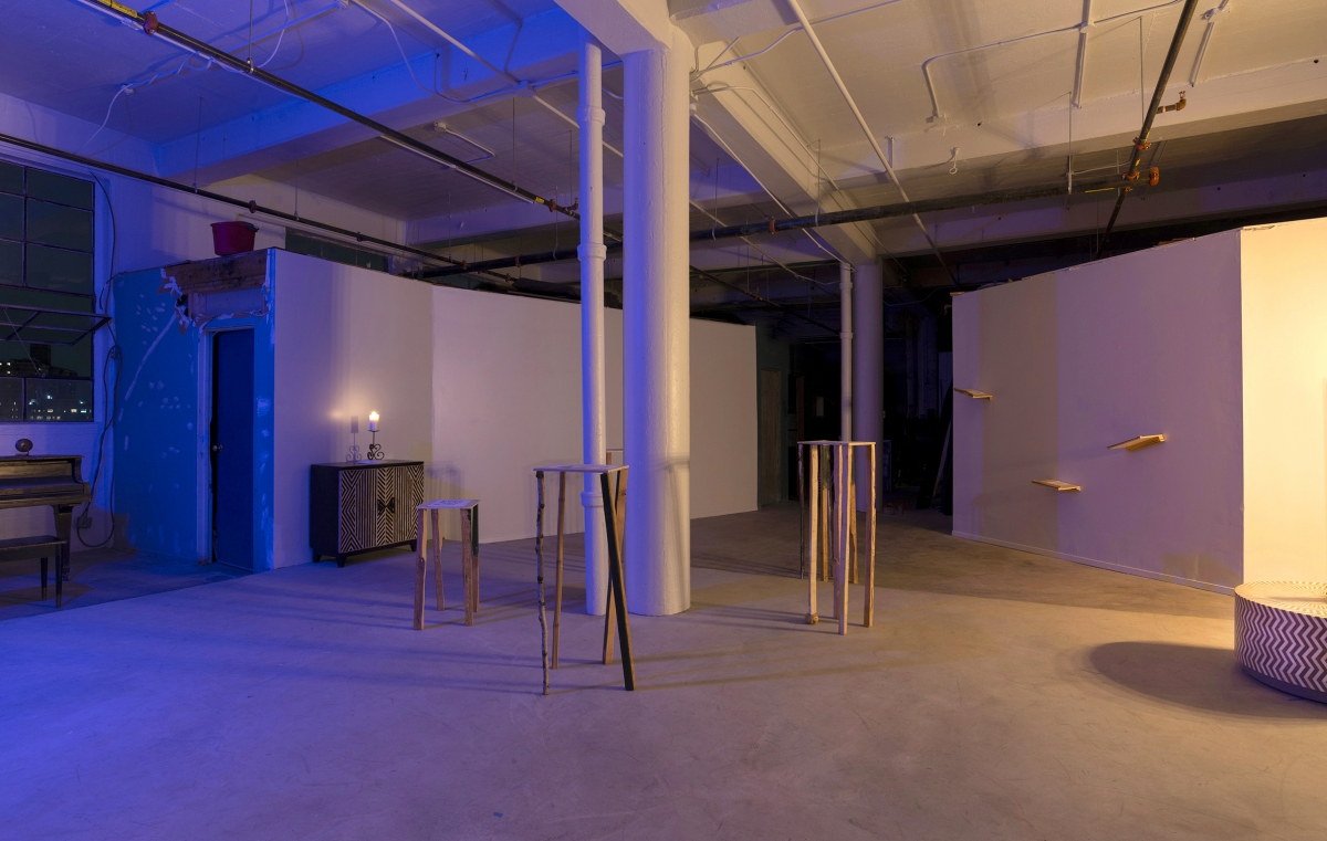 Exhibition View, No Moon, New York, 2019