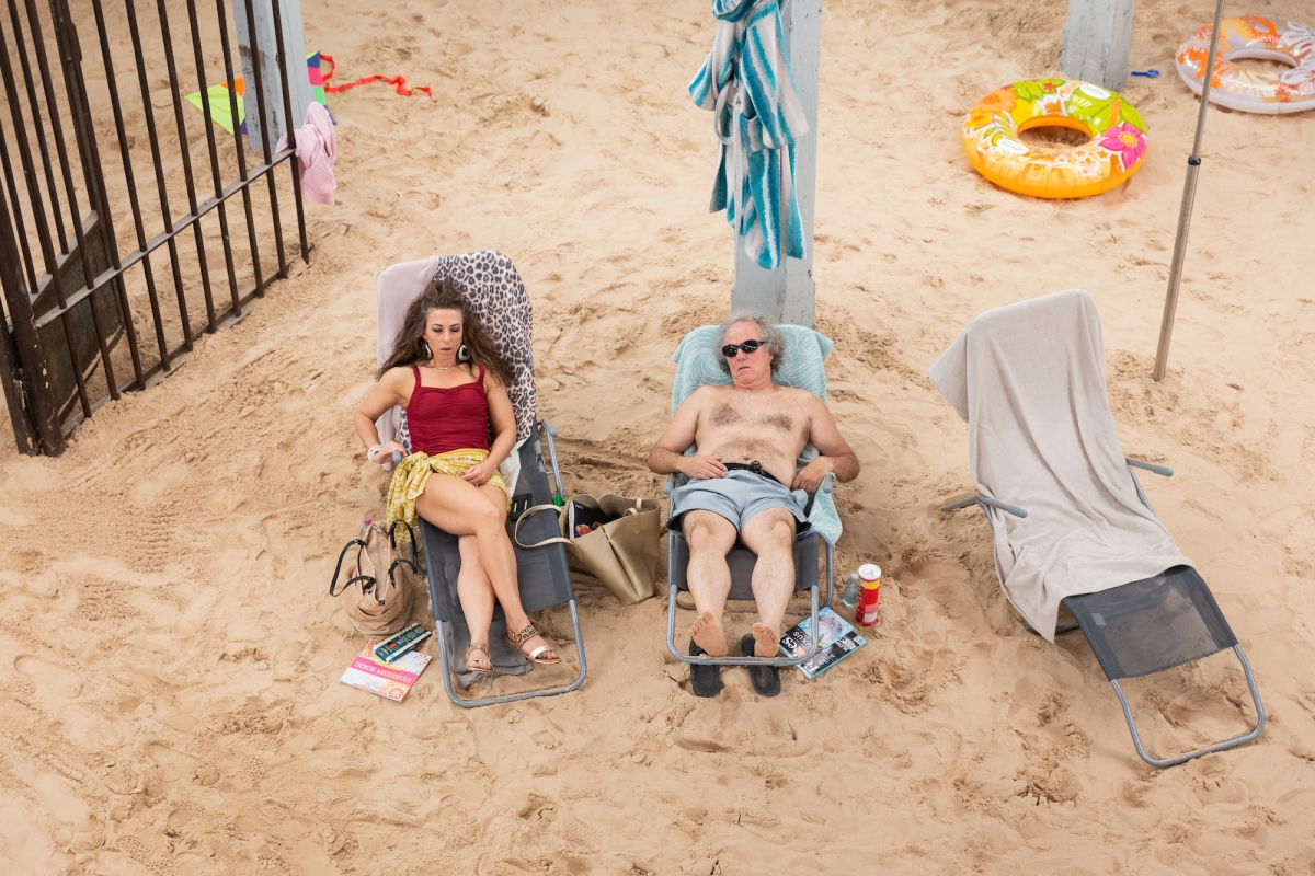 3D-Printed Mothers on a Fake Beach  The Lithuanian Pavilion 'Sun
